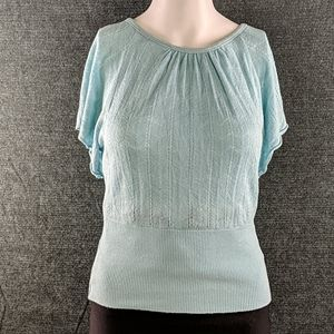 Vintage 90's Forever 21 Rayon Knit Top